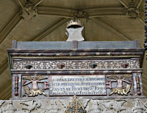 Emma's Mortuary Chest, Winchester Cathedral