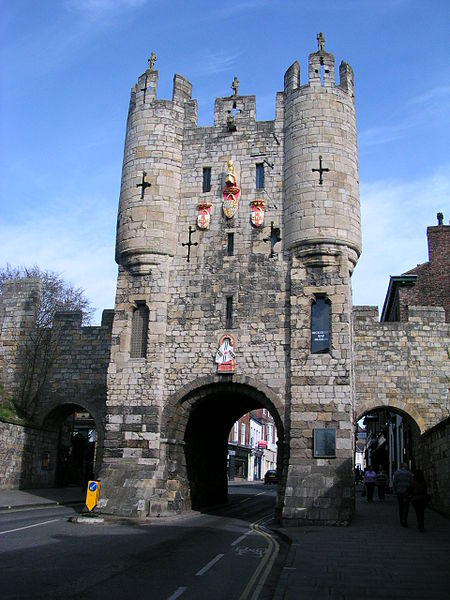 Micklegate Bar. (Wikimedia Commons)