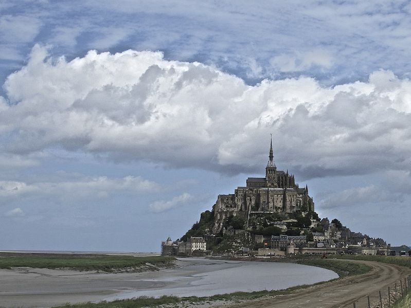 Mont St. Michel, abbey with ties to Gunnora