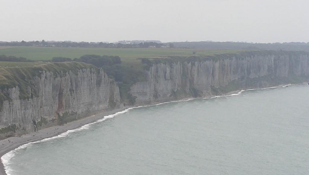 Coastline at Fecamp