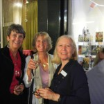 London in September, talking with fellow authors Anne Easter Smith and Jenny Barden.