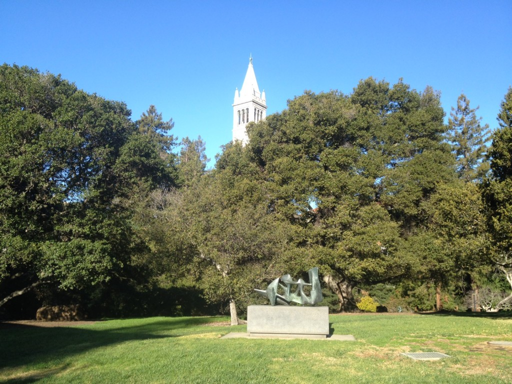 The bucolic UC Berkeley campus.