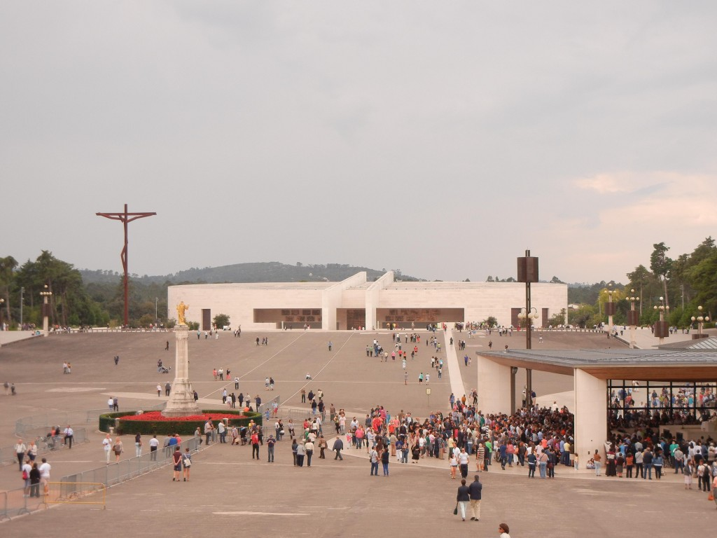 The new basilica at Fatima.