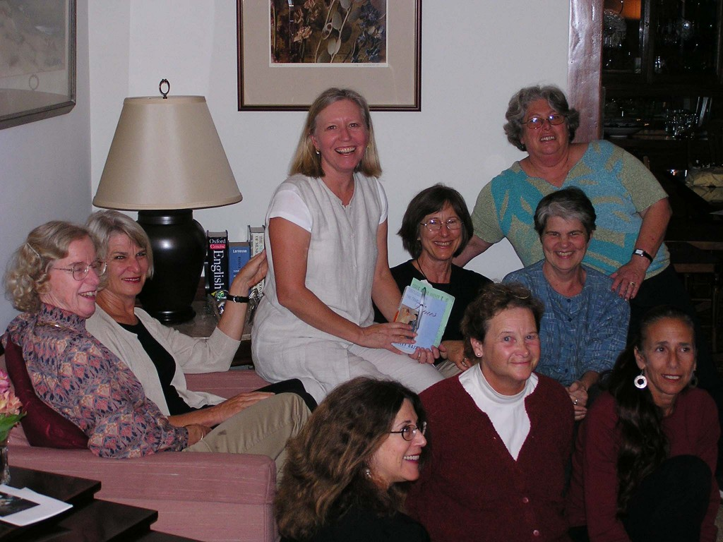 My Book Club, the Bookies. A somewhat vintage photo.