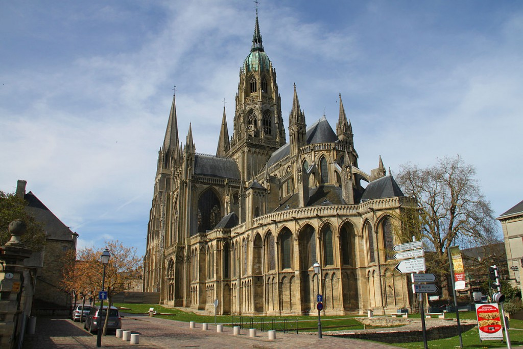 Bayeux Cathedral. Photo Credit: James Wooley