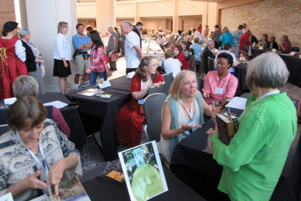 You can see what a wild crush the book signing was! Photo: Mark Wiederanders