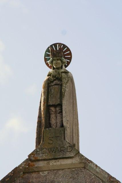 St. Edward, Corfe Village. Wikimedia Commons