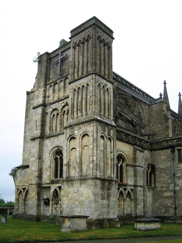 Malmesbury Abbey, courtesy Andrew Dunn