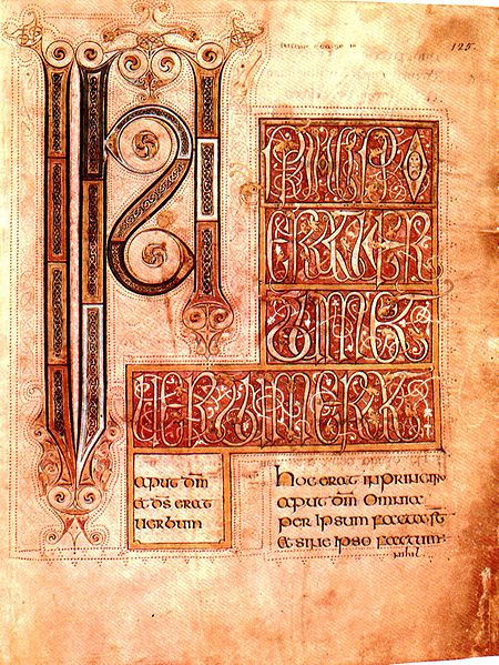 Illuminated manuscript: Barberini Gospels. 8th c