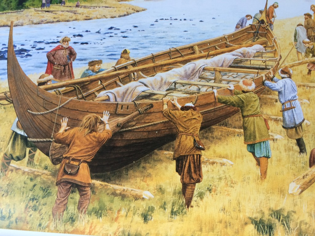 From VIKING LONGSHIP by Keith Durham. Illustration: Steve Noon