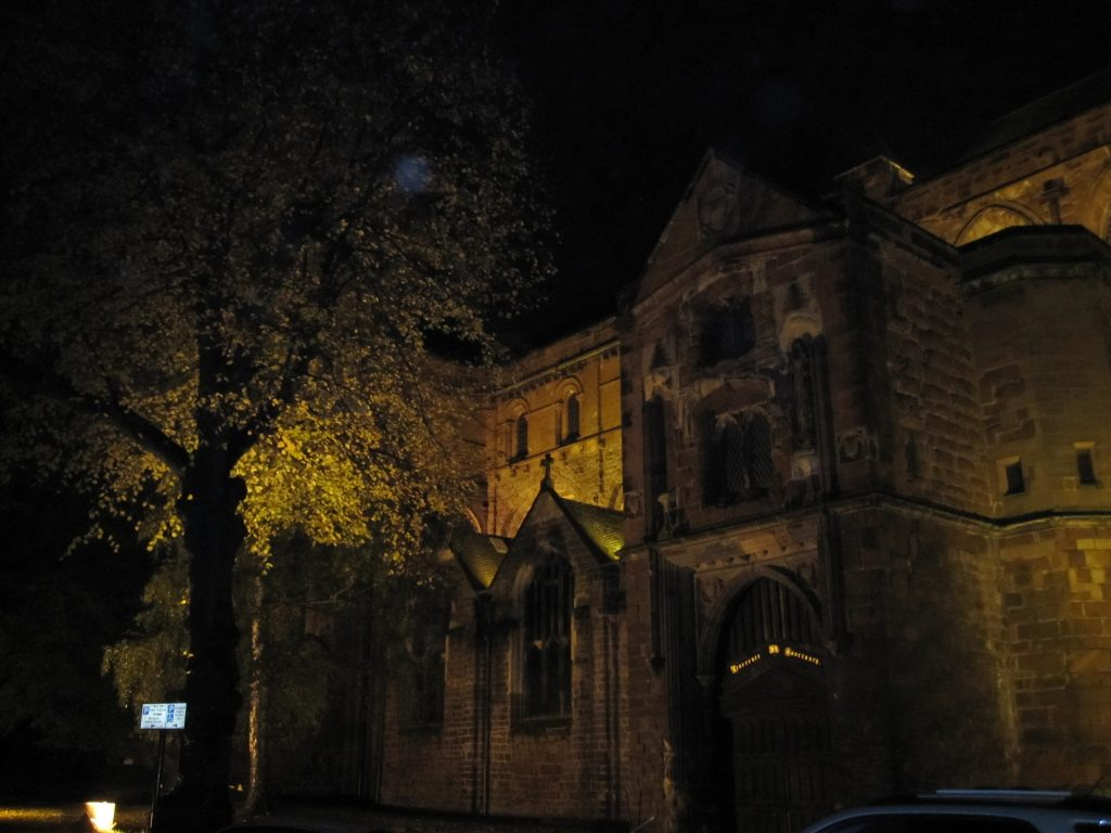 Cadfael's abbey, St. Peter's, Shrewsbury.