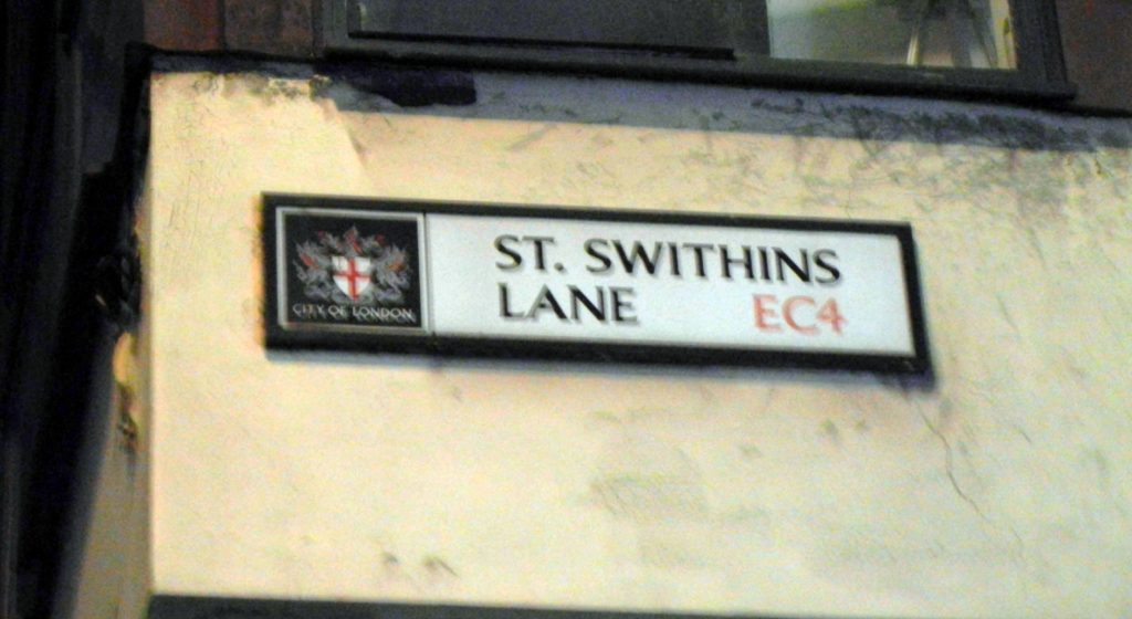 St.Swithins